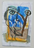 AUSTRALIAN CONTEMPORARY MODERNIST PAINTING BY DOW LONG   P53
