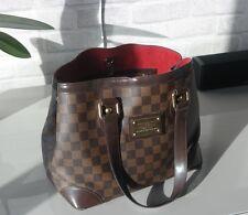 Authentic Louis Vuitton damier canvas Hampstead PM tote bag
