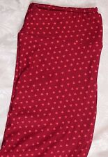 NEW Lularoe Leggings TC ~ Tall & Curvy ~ Hearts VALENTINE'S DAY Red Buttery Soft