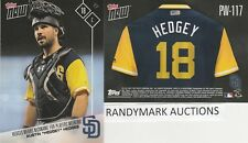 Austin Hedges HEDGEY PADRES TOPPS NOW PLAYERS WEEKEND NICKNAMES PW-117 SP 52