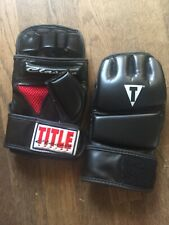 Title boxing gloves size Large