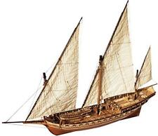 "Beautiful, brand new wooden model ship kit by OcCre: the ""Cazador Xebec"""