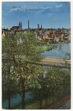AK Hof in Bayern, Partie an der unteren Brücke, 1915