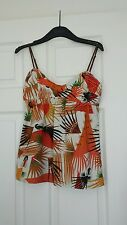 Sportsgirl Tropical Printed Cami Size XS