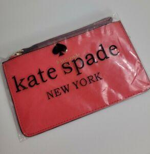 Kate Spade New York Wristlet Wallet Pink Brand New In Plastic
