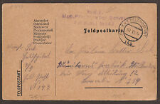AUSTRIA / ÖSTERREICH / POLAND. FELDPOST. WW1. FPO 143. BLACKSMITHS HORSE DEPOT.