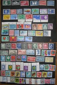 Switzerland 1943-1959 MLH/MNH Regular and Semi Postal Collection CV $110+  PZ1