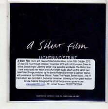 (HA338) A Silent Film, Lightning Strike - 2015 DJ CD
