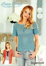 Stylecraft 9514- Ladies DK CROCHET PATTERN -2 Designs-not the finished items