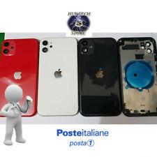 BACK COVER SCOCCA POSTERIORE COPRI BATTERIA APPLE IPHONE 11 COMPLETA + FRAME