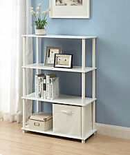 Cube Storage Organizer Bookcase Stand Mainstays Classic 4-Shelf No Tools 6