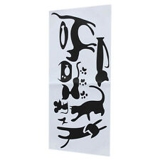 Cat Removable DIY Art Eco-friendly PVC Switch Sticker Home Wall Window Decor VP