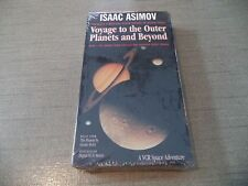 "NEW!!   ISAAC ASIMOV ""Voyage to the Outer Planets and Beyond"" VHS  Rare Find"