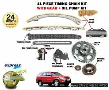 FOR HONDA CRV 2.0 VTEC K20A4 150BHP 2001-> TIMING CHAIN + GEARS + OIL PUMP KIT