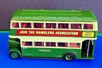 RARE: EFE - REF.NO.26402A DAIMLER UTILITY LONDON TRANSPORT GREENLINE (RAMBLER'S)