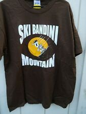 "CLASSIC "" SKI BANDINI MOUNTAIN  "" MEN'S SIZE LARGE  COLOR  BROWN"