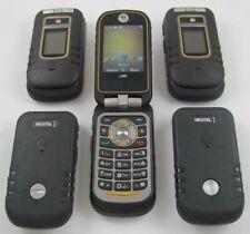 5 Motorola i686 Brute Nextel Walkie-Talkie Phone Lot Bluetooth Good