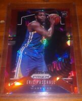 2019-20 Panini Red Cracked Ice Prizm Refractor Rookie Eric Paschall Golden State