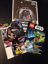 Lego Star Wars Comic Book Poster Lot SDCC Exclusives