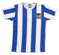 Retro Brighton and Hove Albion 1950's Football T-Shirt Embroidered Logo