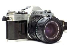 Canon AE-1 Film Camera W/ canon FD 35-70mm 1:3.5-4.5 Lens As Is