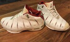Dwayne Wade Converse 1's, MVP Season, 00:00.8, White/Red, Pre Owned, SZ 8 Shoes