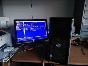 Dell OptiPlex 745 Bottes Pour Bios, Intel Pentium D @ 3 GHZ, 512MB RAM (519)