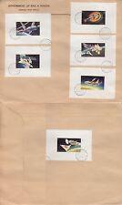 1972 Ras al Khaima FDC Space Weltraum Skylab, de-Luxe M/S white [brd815]