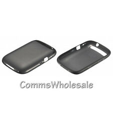 Genuine Blackberry Curve 9320 9310 9220 Cáscara Suave Negro ACC-46602-201