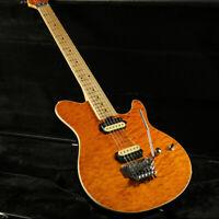 StarshineOLP Electric Guitar 5A Quilted Maple Veneer Floyd Rose Bridge Yellow