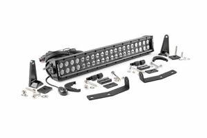 "Rough Country 20"" LED Bumper Kit (fits) 2016-2020 Nissan Titan XD | Dual Row| BS"