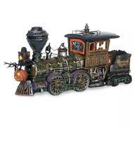 Haunted Rails Engine & Coal Car Dept 56 Snow Village Halloween 800001 train 10�