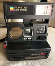 Polaroid Land Camera Autofocus 660 Macchina Fotografica Buone Condizioni Vintage