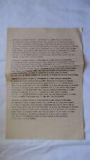 DOCUMENT ORIGINAL : RESTITUTION DE 267 BLESSES VIETMINH / GUERRE INDOCHINE 1954