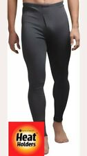 Genuine Mens Heat Holder Thermal Long Johns Small 0.45 Tog Charcoal Grey