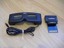 Rare Sega Master System SMS ASUS 3D Glasses with Adapter SegaScope 3-D CHEAP