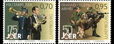 Luxembourg 2017  Army soldier uniform militaria Military Band music 2v mnh **