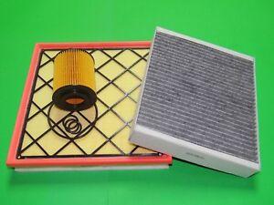 Ölfilter Luftfilter Aktivkohle Pollenfilter Chevrolet Cruze 1.7 CDTi / Diesel