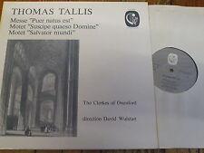CAL 1623 Tallis Puer natus est etc. / Wulstan / Clerkes of Oxenford