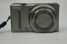 Nikon COOLPIX S9050 12.1MP Digital Camera - Silver