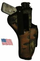 USA Made Cammo RealTree Holster Colt Woodsman .22 6 in barrel W extra mag pouch