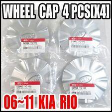 KIA 2006-2011 Rio Wheel Center Cap   Genuine OEM 52962-1G105 [x4]