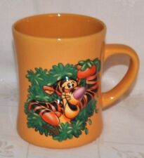NEW DISNEY TIGGA 3D Embossed Walt Disney World Yellow-Gold Mug