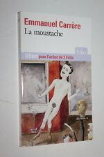 La Moustache - Emmanuel Carrère - Folio  n° 1883