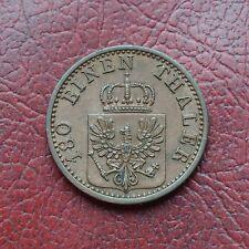 Prusia 1868C cobre 2 Pfennig