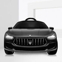 12V Electric Kids RC Ride On Car with Remote, MP3. Maserati  Black