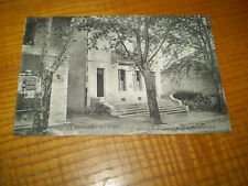 Bureau de Poste de Bédoin, Vaucluse , publicité Byrrh