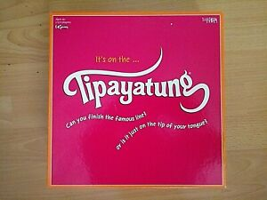 Tipayatung Board Game - Can You Finish The Famous Line ?  - 2006 - Complete