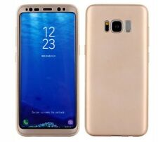 Samsung Galaxy S8 plus ,360 full body case (only) gold color