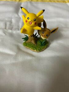 Pokemon Pikachu and Eevee Trading Card Promo Figure 2018